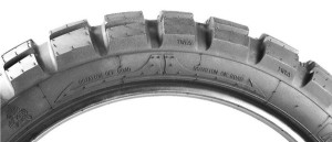 Sava MC60 dual sport tire tread direction
