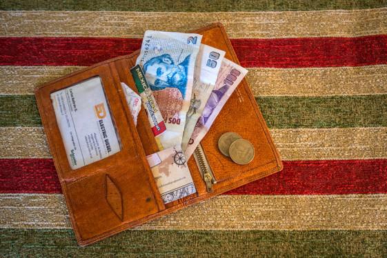 prepare a fake wallet