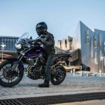 2015 Tiger 800 XRx in the city