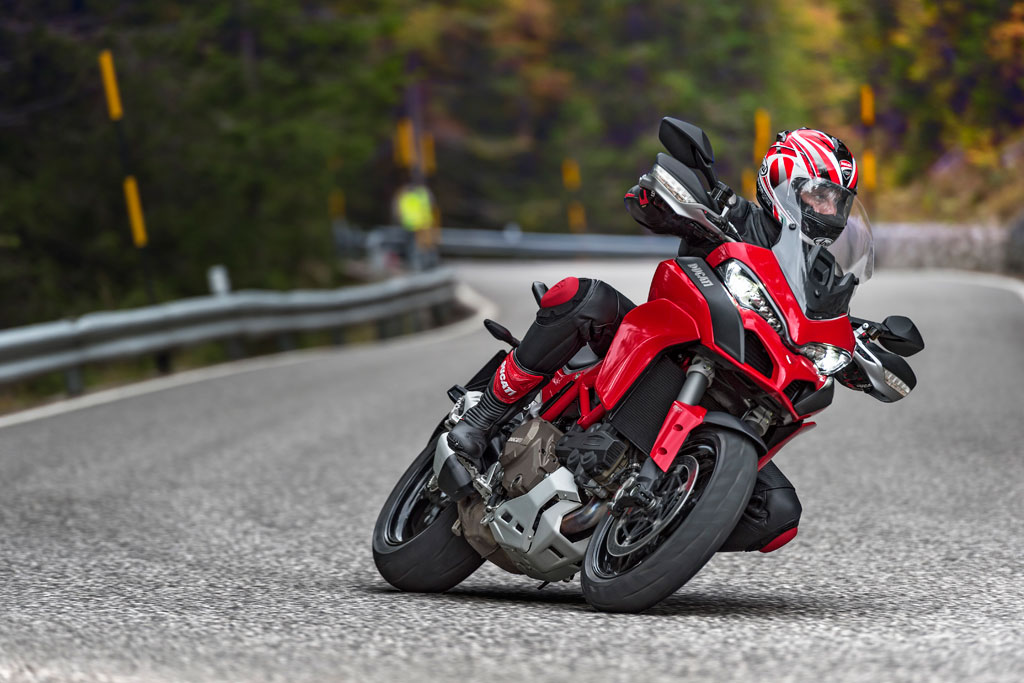 2015 Ducati Multistrada 1200 S Red