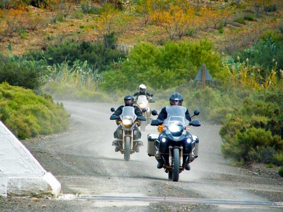 BMW R1200GS trio South Africa Baviaans gorge