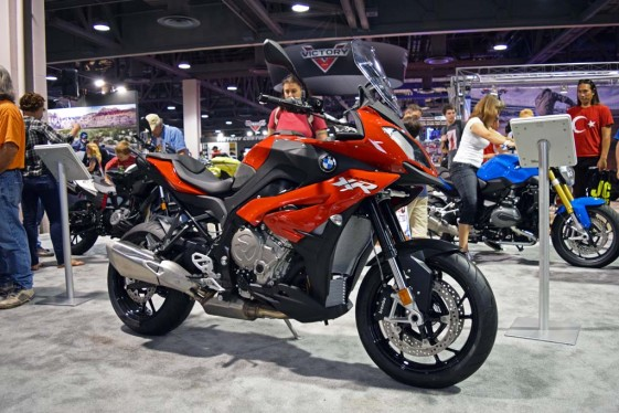 2015 BMW S1000XR at the Long Beach IMS