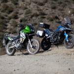 CSC Cyclone RX-3 and the Kawasaki KLR 650