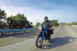CSC Cyclone RX-3 highway riding