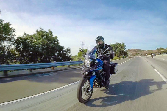 CSC Cyclone RX-3 highway riding
