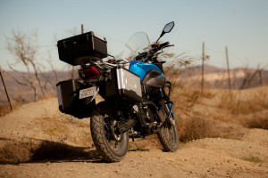 CSC Cyclone RX-3 top box and panniers