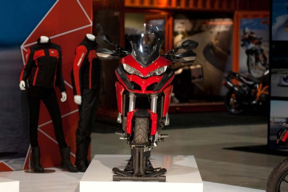 Ducati Multistrada 1200 at the Long Beach IMS