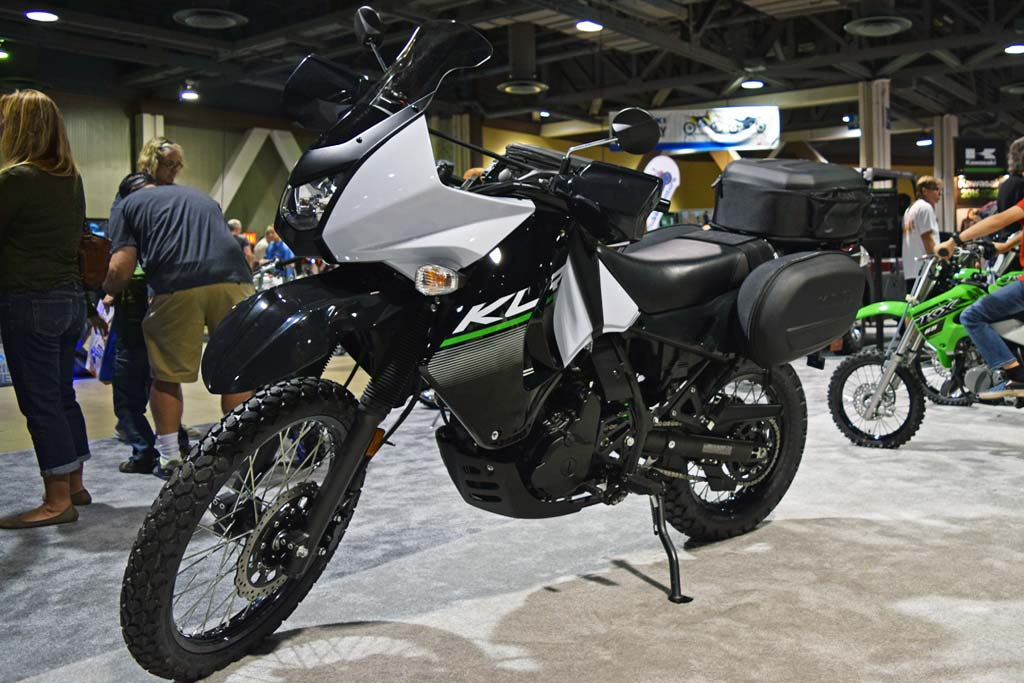Much To See For Adv Riders At The 2014 Long Beach Ims on klr 650 bmw