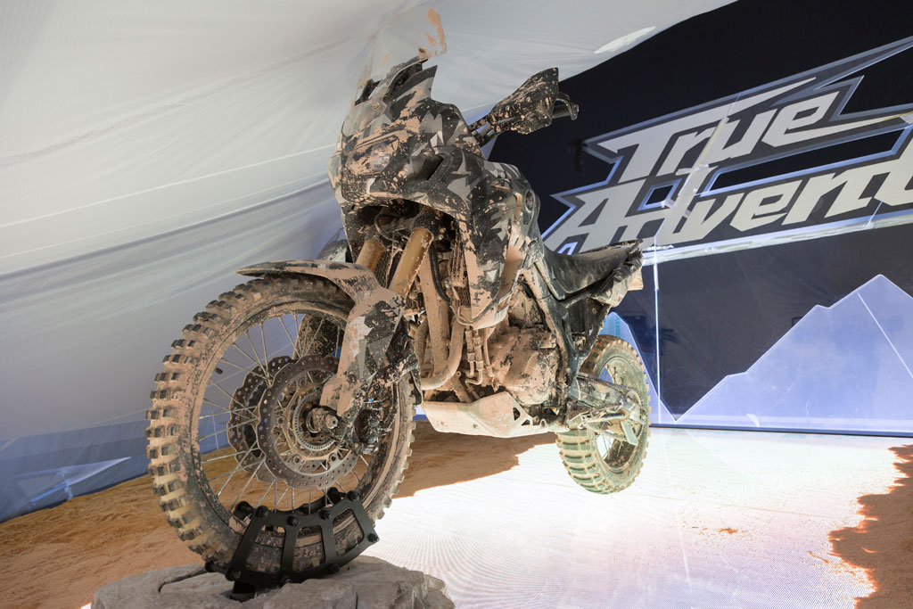 New Honda Africa Twin unveiling at EICMA