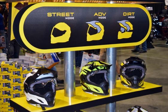 Touratech Aventuro Carbon Helmets at the Long Beach IMS