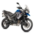 Triumph Tiger 800 XCx blue