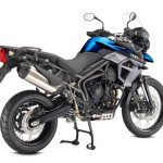 Triumph Tiger 800 XCx blue back