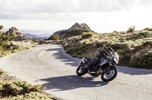Triumph Tiger 800 XR silver black