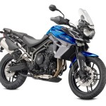 Triumph Tiger 800 XRx blue