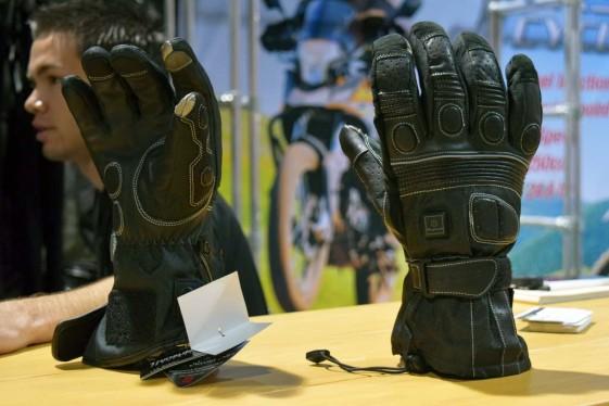 VentureHeat Heated Gloves at the Long Beach IMS
