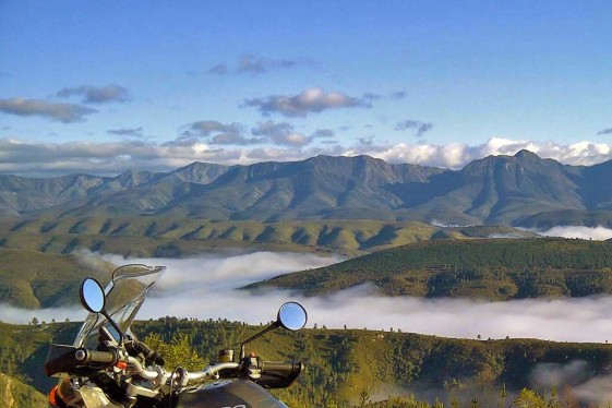 Motorcycle South Africa Karoo Pass