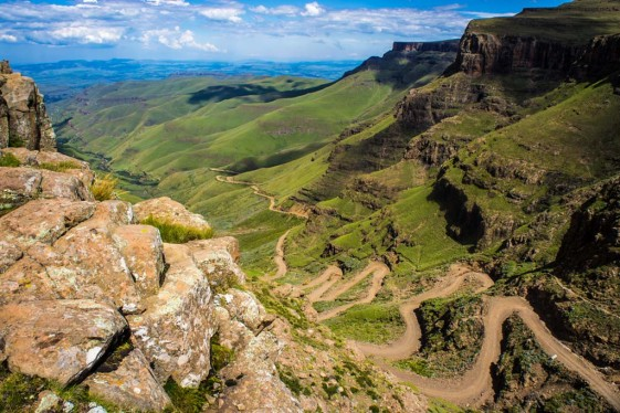 motorcycle tour South Africa Sani Pass into Lesotho