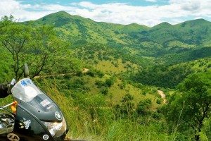 Motorcycle touring Lowveld Swaziland South Africa