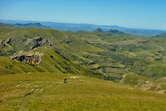 Motorcycle touring South Africa Nyala Valley KZN midlands