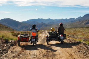 Motorcycle touring South Africa with sidecars