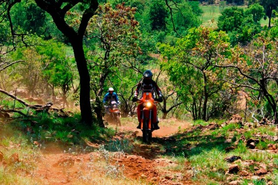 Off-road riding South Africa Lowveld Swaziland