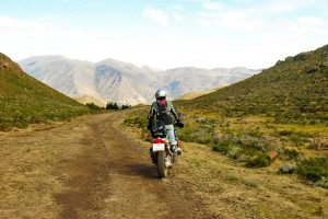 Riding South Africa north-east Lesotho