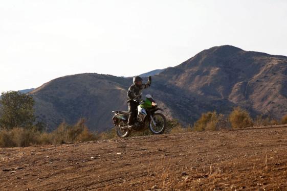 Making it up a hill climb