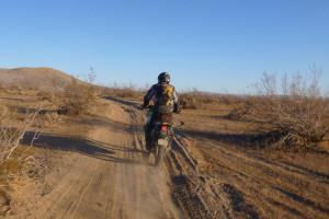 Bill newbie off-road rider.
