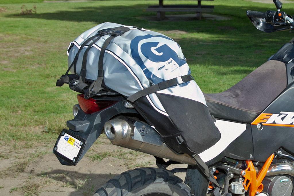 Wolfman Vs Giant Loop 60l Tail Bag Comparison Test Adv Pulse