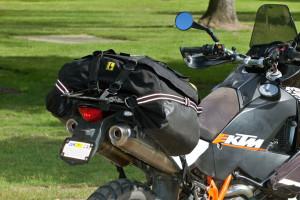 Wolfman luggage boulder beta motorcycle tail bag