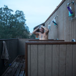 Rawhyde Ranch outdoor shower
