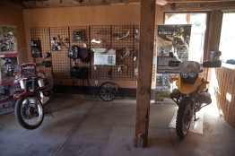 RawHyde Ranch has its own motorcycle museum