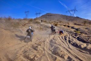 sandy hill climb big adventure bikes.