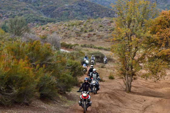 Students ride through 120 acre RawHyde Ranch