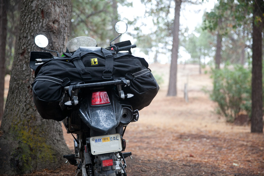 The Wolfman Bag Keeps It Simple With Just 2 Rear Luggage Rack Straps And Two Large Top Compression