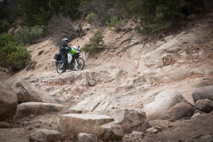 Wolfman luggage extreme terrain test