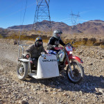 Honda XR650R with Sidecar