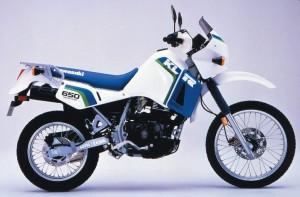 1987 Kawasaki KLR 650