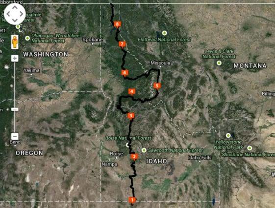 IDBDR Map