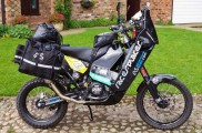 Lyndon Poskitt KTM 690 Rally Adventure Bike Basil