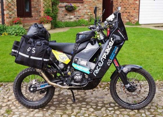 Lyndon Poskitt KTM 690 Rally Adventure Bike Basil