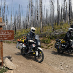 KTM 990 Adventure on the IDBDR Idaho Backcountry Discovery Route