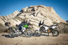 klr-650 suspension upgrade vs. ktm 990 adventure r