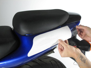 motorcycle paint guard vinyl protective film
