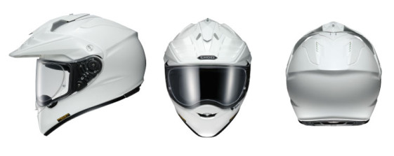 shoei hornet x2 in white