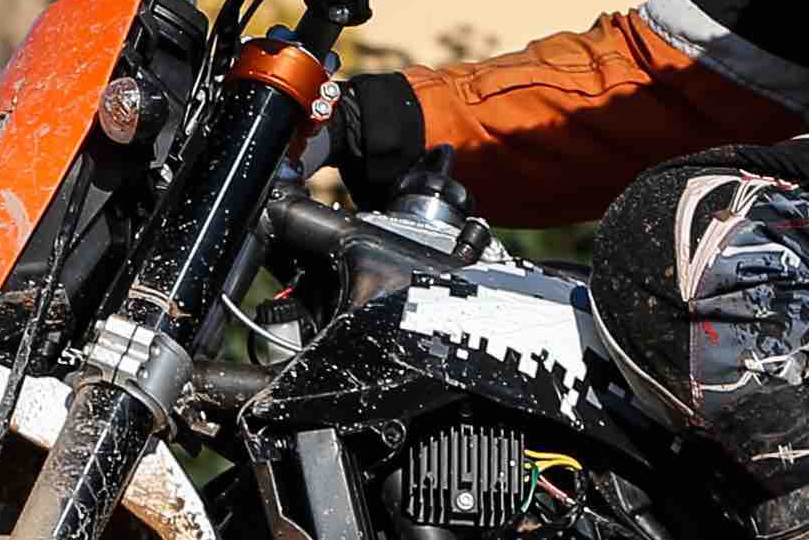 Spy Photos May Reveal a KTM 690 Adventure in the Works - ADV