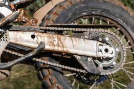 2016 KTM 690 Adventure Prototype swingarm