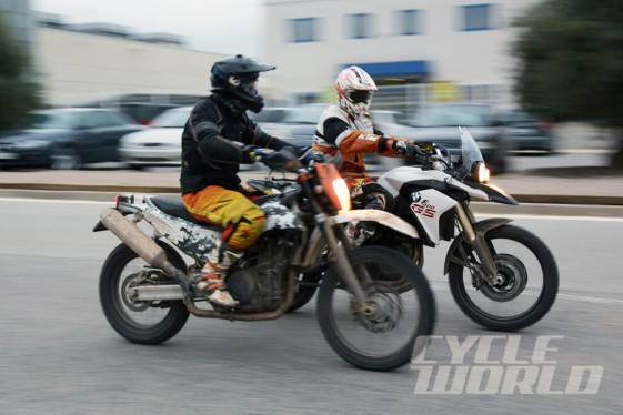 KTM 690 Adventure vs BMW F800GS