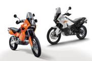 KTM 950 Adventure and 990 Adventure