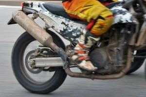 New KTM 690 Adventure low exhaust